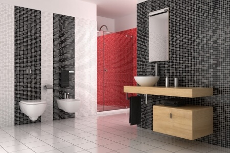 mosaik im bad so mosaik perfekt in szene setzen. Black Bedroom Furniture Sets. Home Design Ideas