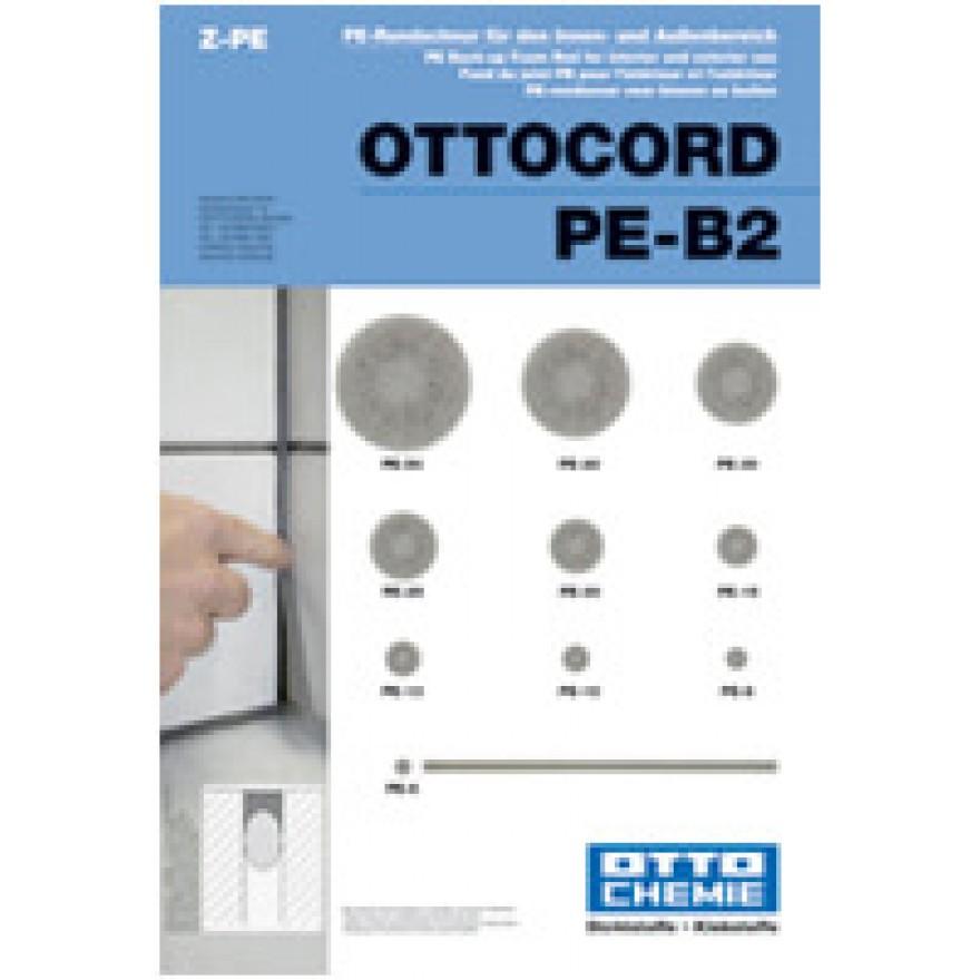 rundschnur pe b2 ottocord ist ein hinterf llmaterial f r fugen. Black Bedroom Furniture Sets. Home Design Ideas