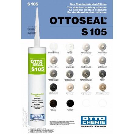 ottoseal s105 standard acetat silikon reudziert. Black Bedroom Furniture Sets. Home Design Ideas